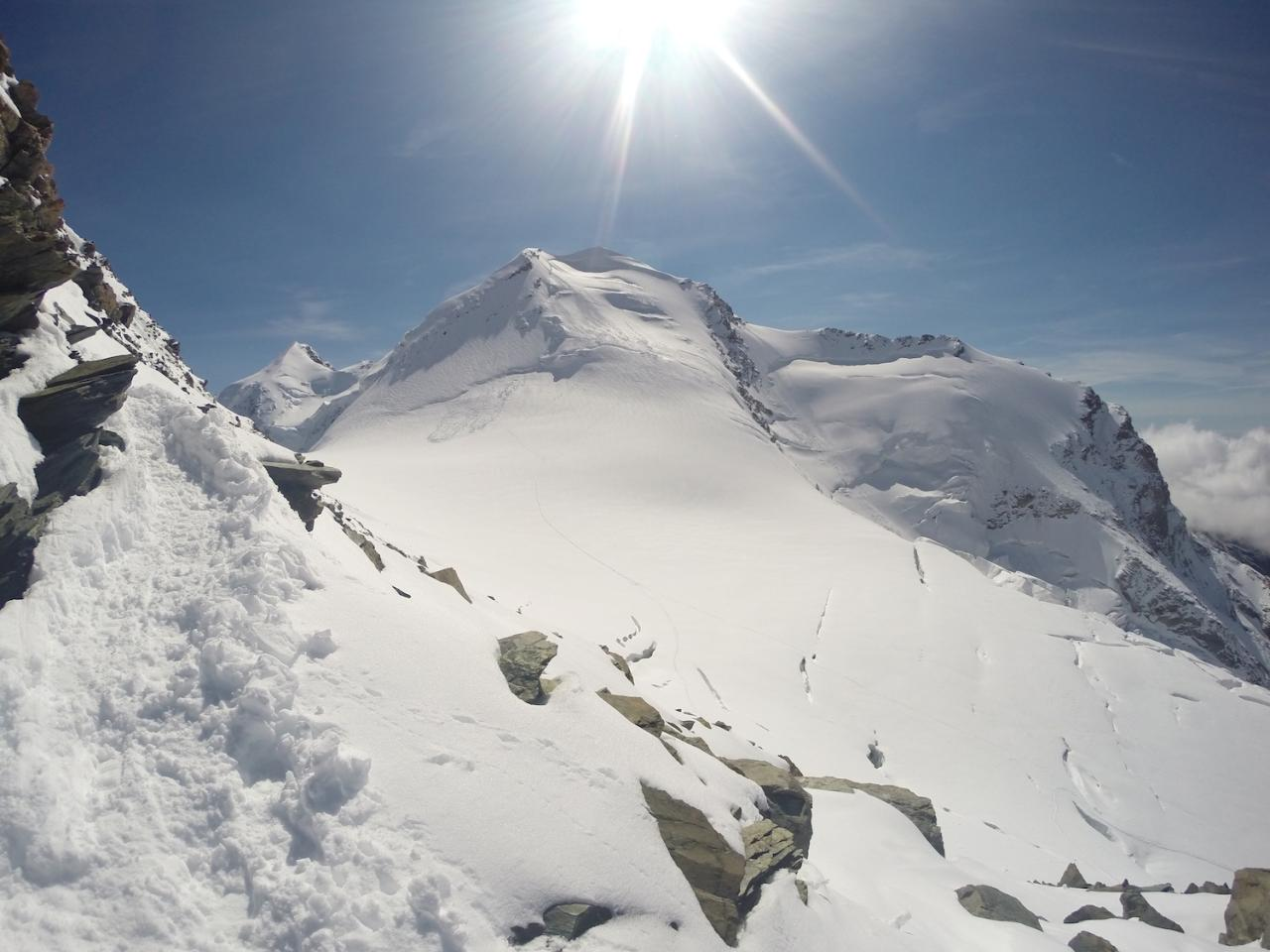 Ascension Breithorn 4.165 m